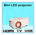 New! Support HDMI Mini Protable Pocket Game Digital LED player Projector for Home Cinema with hdmi/VGA /AV /USB/SD