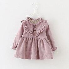 Новинка года; зимнее платье для новорожденных; одежда для малышей; платье для девочек; вечерние платья принцессы на Рождество; сезон весна; 4ds101