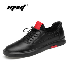 High Quality Genuine Leather Men Flats Shoes Lace Up Casual Shoes Men Designer Breathable Men Shoes Fashion Sneakers hot high quality genuine leather men shoes casual leather shoes men s lace up breathable comfy oxford shoes men flats size 38 44