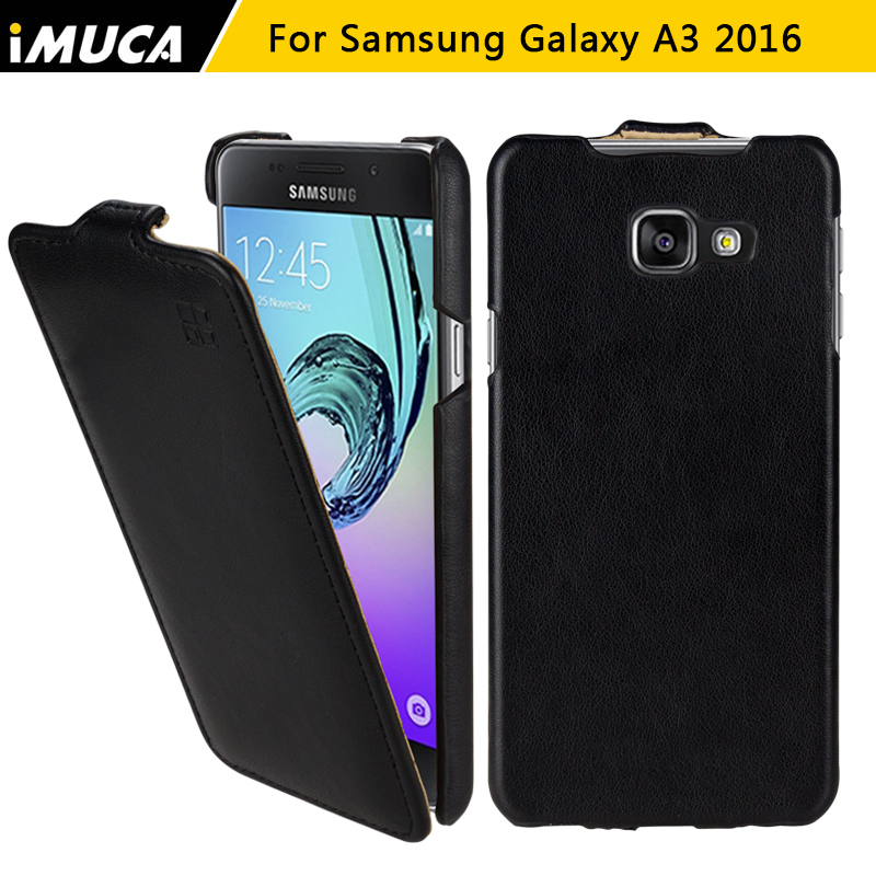Galleria fotografica iMUCA Phone Case for samsung galaxy a3 2016 Case luxury flip cover for samsung a3 a310 SM-A310 A3100 A310F capa back cover