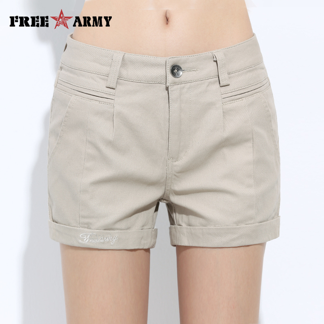 Womens Shorts Summer Fashion Casual Cotton 4 Solid Colors Short Pants Brand Clothing Black Sexy Hot Woman Shorts Dropshipping 2