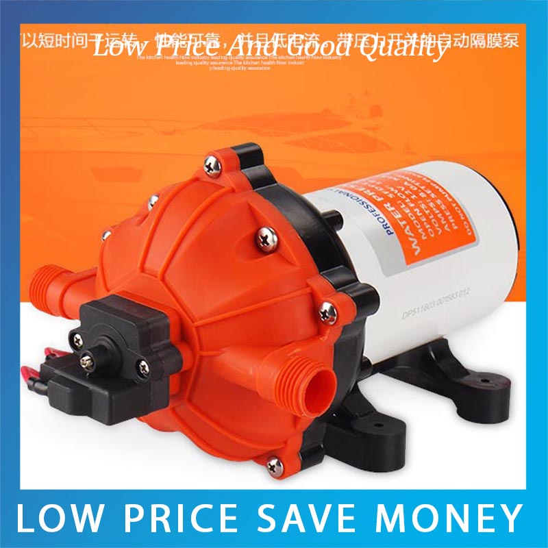 12V/24V Car Wash Pump House High Pressure Car Booster Pump 480l h portable wash device car washing machine cleaning pump household high pressure car wash pump