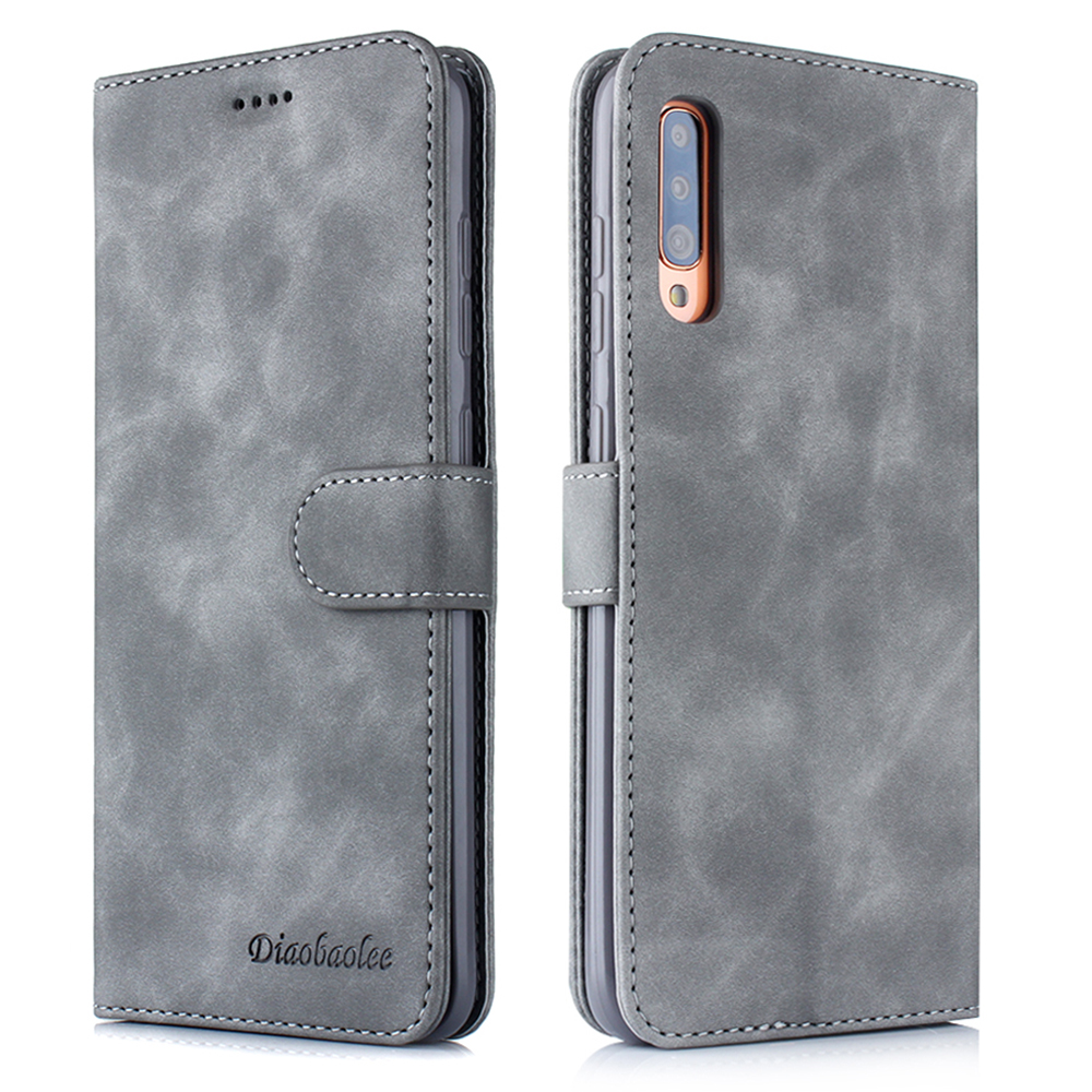 Luxury Leather Samsung Galaxy A90 Wallet Cover