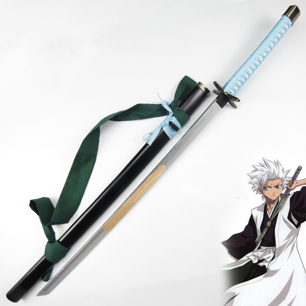 Bleach Hitsugaya Toushirou Hyourinmaru Wooden Sword Weapon Props For Anime Show And Chrismas New Year Costume Party Costume Props Aliexpress