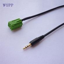 2017 кабель авто аксессуар 3,5 мм AUX стерео аудио линии Вход кабель для Renault Кабель-адаптер для автомобиля MP3 для телефона hotaa