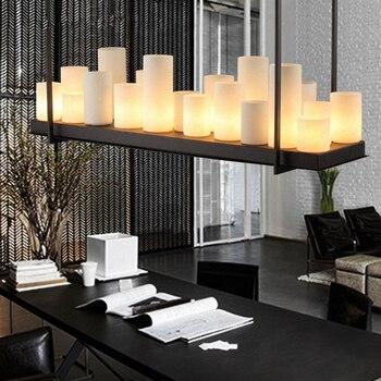 Salon Led Lustre Salle A Manger Suspension Luminaire Chambre Lampe Suspendue Deco Eclairage Industriel Retro Suspension Lumieres
