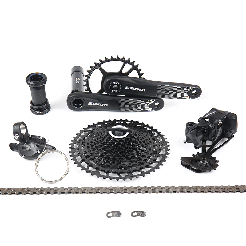 Derailleur and Chain SRAM NX Eagle 12-Speed Groupset with Cassette Shifter