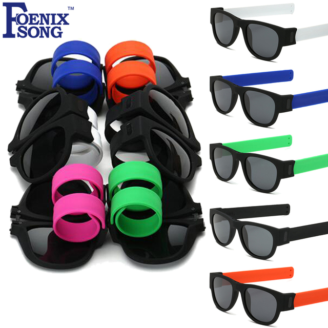586712ea37d FOENIXSONG Mens Womens Polarized Sunglasses UV400 Protection Lens Folding  Frame Sun Glasses Oculos De Sol Kids