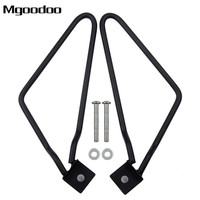 Motorcycle Saddlebag Support Brackets Motorcycle Frame Saddle Bag Brackets Kit For Sportster 883 Iron XL883N Dyna Fat Bob FXDF