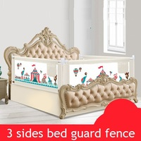Портативная дорожная кровать  детский манеж  детский манеж  детский забор  детская кровать  кровать с загородкой safeti Rails  безопасная кровать ...