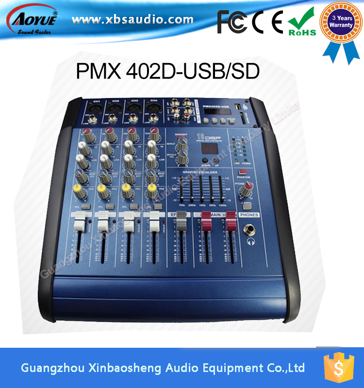 on promotion 16 bit digital effect pmx402d pmx power audio mixer prices built in amplifier in. Black Bedroom Furniture Sets. Home Design Ideas