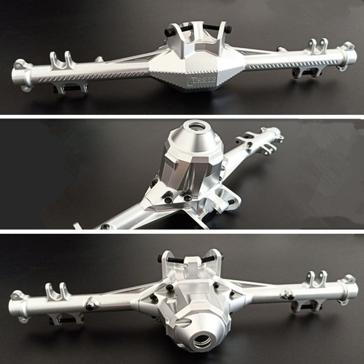 CNC Alloy Rear Axle Shell Assembly Axle Gearbox Housing for 1 7 TRAXXAS UDR UNLIMITED DESERT