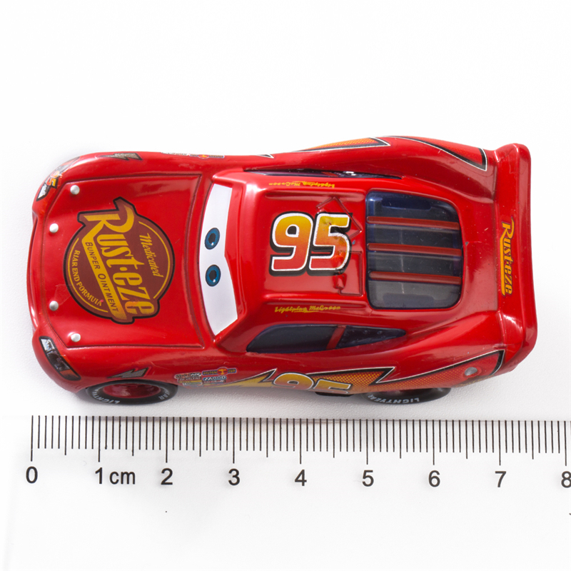Image 2 - Disney Pixar Cars 2 3 Lightning McQueen Mater Jackson Storm Ramirez 1:55 Diecast Vehicle Metal Alloy Boy Kid Toys Christmas Gift-in Diecasts & Toy Vehicles from Toys & Hobbies