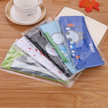 Pen Case Pencil Pouch Stationary Cartoon Canvas Pencil Case Coin Purse Stationery Bag Student Stationery Pencil Bag BD040G цена
