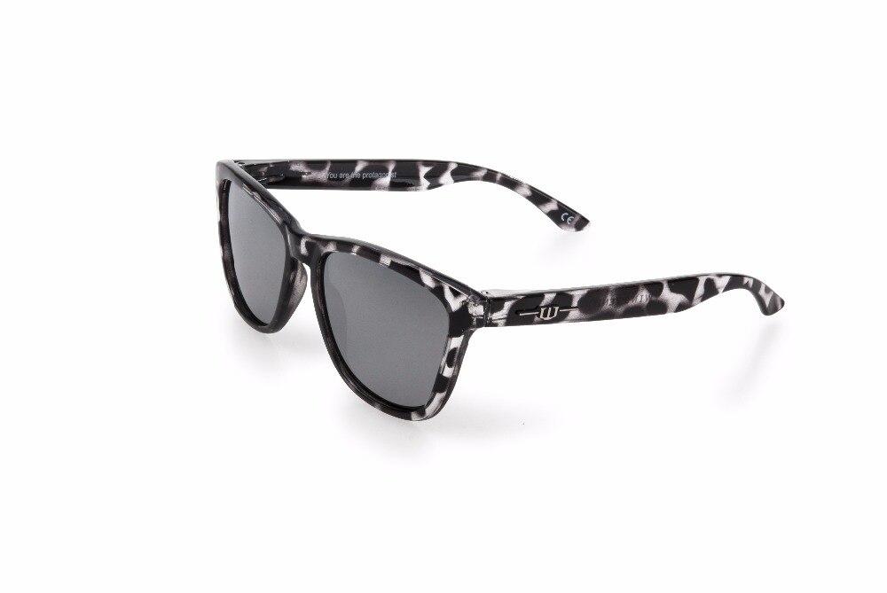 Winszenith Солнцезащитные Очки Унисекс UV400 Поляризованные Линзы Защищают Глаза Женщины Хоксбилл Блоки Как УФ