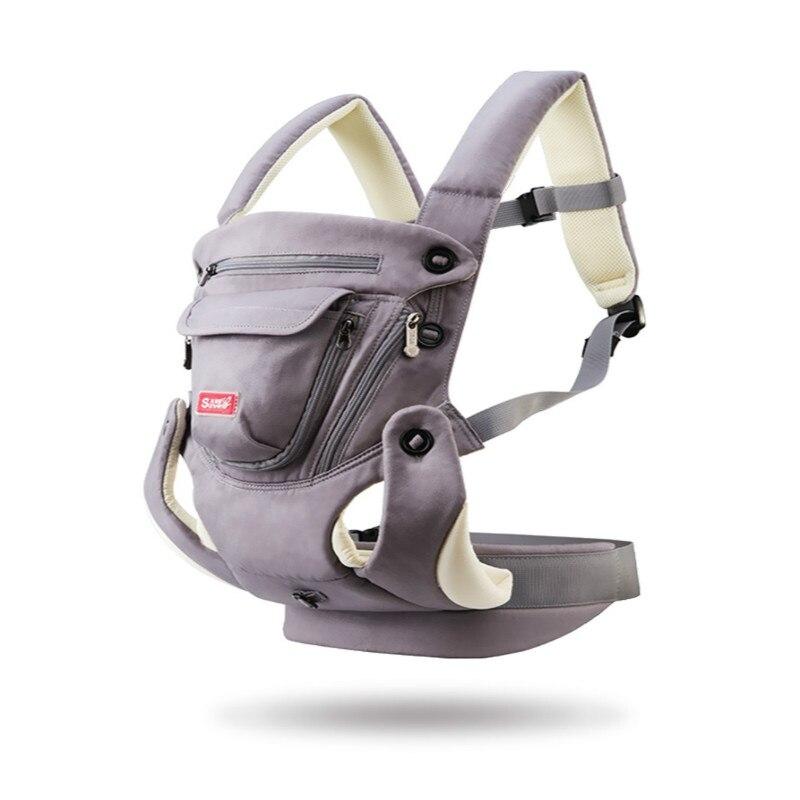 Porte-bébé ergonomique respirant face avant porte-bébé confortable sac à dos à bandoulière poche Hipseat Wrap kangourou pour bébé