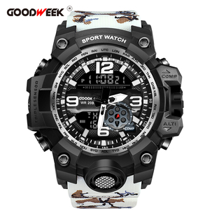 GOODWEEK Men Sport Watch Camou