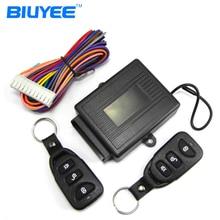 BIUYEE M602 8113 Car Keyless Entry System Remote Keyless Auto Car Lock Control Module Keyless System