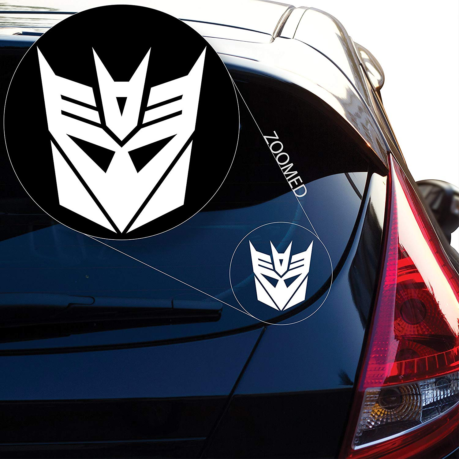 Graphics Decepticon from Transformer Decal Sticker for Car Window, Laptop and More
