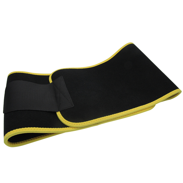 New Grade Adjustable Waist Trimmer Sweat Belt Shaper Slimming Wraps Perfect for Exercise Belly Weight Loss 5mm Thickness 5