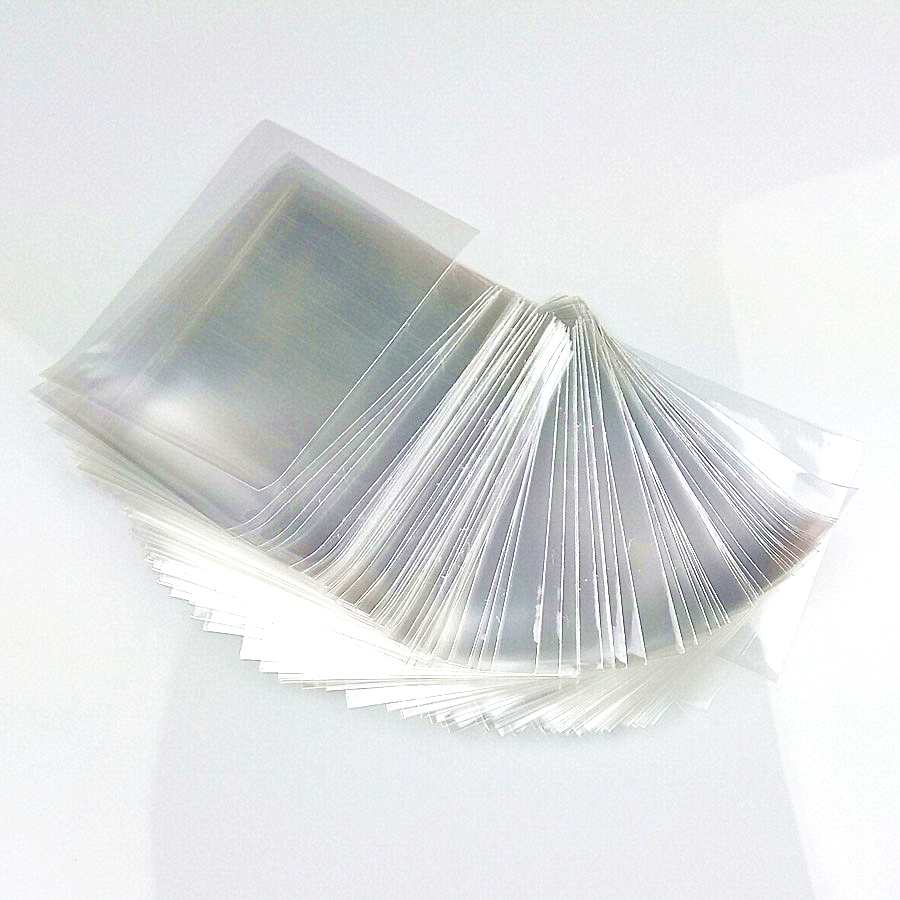 50pcs/Pack Board Games Open Clear Cards Sleeves Protector 66x90mm For Magical Game The Gathering Card Shield TCG Collectioncards image