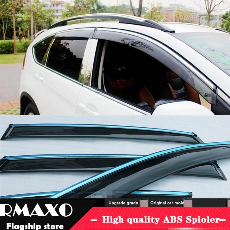 For Honda CRV Plastic Window Visor 2017 Vent Shades Sun Rain Deflector Guard For Honda CR-V 4PCS/SET