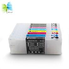 Winnerjet 300ml T5441-T5448 Empty Refill Ink Cartridge For Epson stylus pro 4000 Ink Cartridge + Free chip resetter
