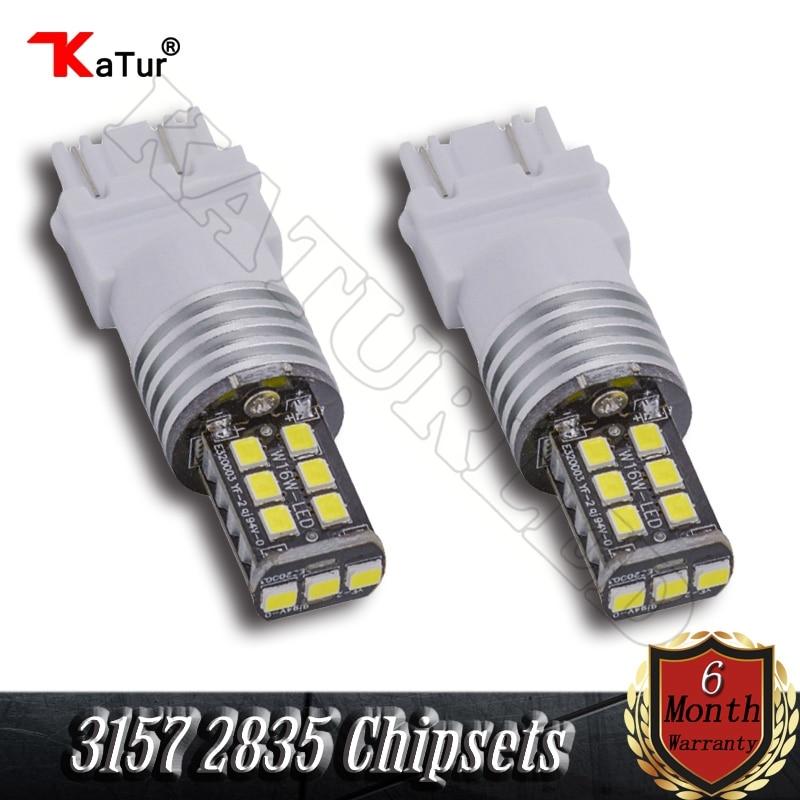 T25 3157 3057 3457 4057 3156 White Amber Red Color DC 12V Led Car Light Bulb Reverse Brake Backup Turn Signal Light (Pack of 2) 3156 12w 600lm osram 4 smd 7060 led white light car bulb dc 12v