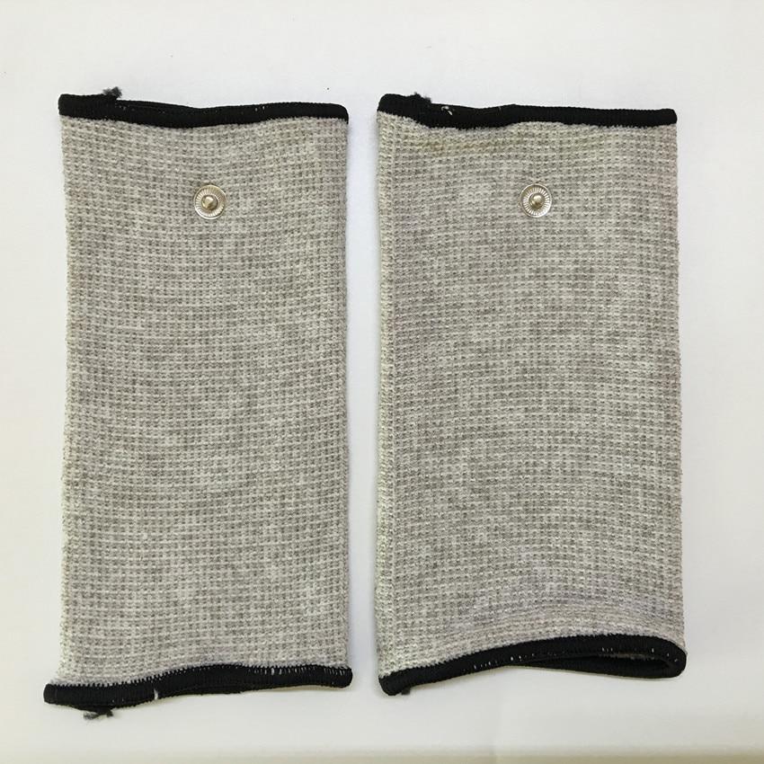 2pcs(1pair) Silver fiber Electrode massage Wrist/knee/Socks,prevent rheumatism,electrode stimulation TENS/EMS accessories