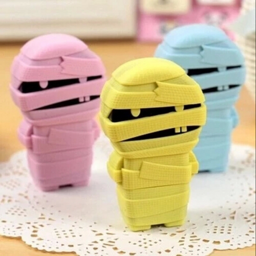 12 pcs/lot Creative mummy design 6 M correcting tapes correts