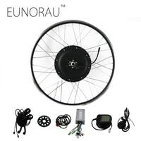 EUNORAU 48V1000W 26''27.5'' 28'' rear wheel hub motor electric bike kit cheap Ebike Conversion Kit free shipping