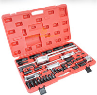 Diesel Injector Extractor 40Pc Diesel Injector Extractor WT04A3001 With Common Rail Adaptor Slide Hammer Tool Set