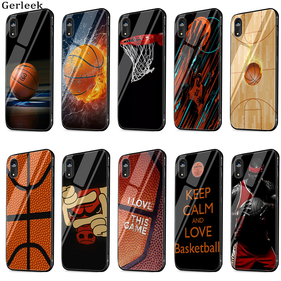 Tempered Glass Case Basketball Wallpaper Hot Selling Fashion
