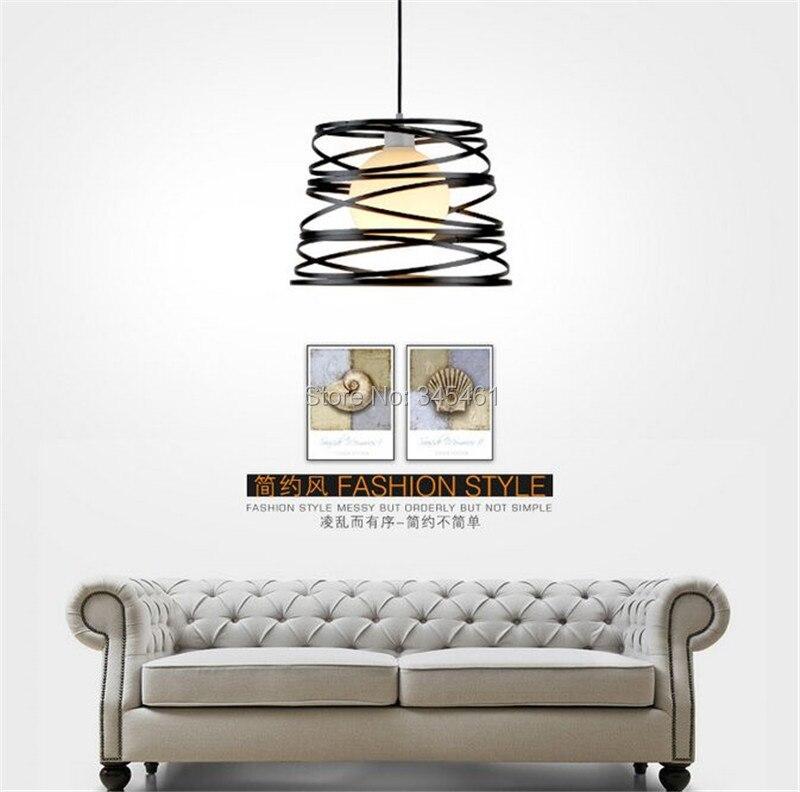 Black/White Creative Pendant Light AC220V/110V E27 Metal Modern Led Lamp Pendant Light Lamp Dia32X24cm Hanging Lamps For Bedroom black white creative pendant light ac220v 110v e27 metal modern led lamp pendant light lamp dia32x24cm hanging lamps for bedroom