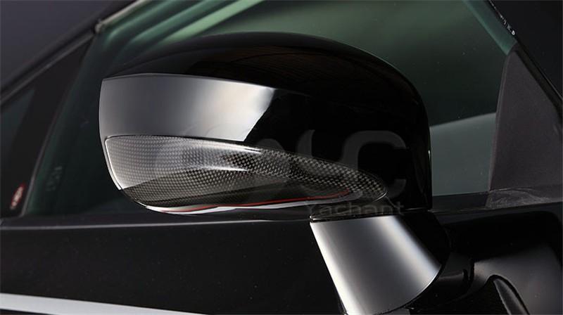 2008-2014 Nissan R35 GTR CBA DBA Varis Style Side Mirror Under Cover DCF Matte Finish (10)