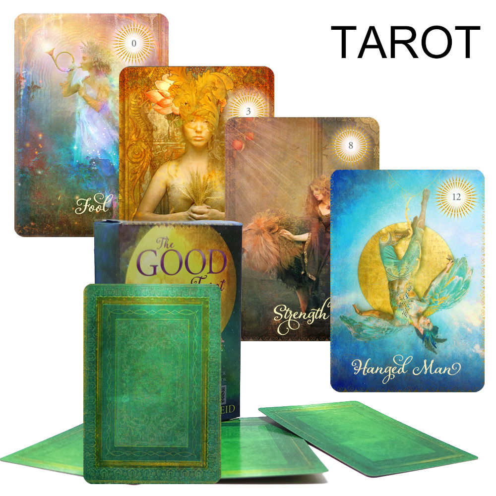 2018 Great Tarot Cards Game English Version Tarot Deck Divination Fate For Personal Use Board Game