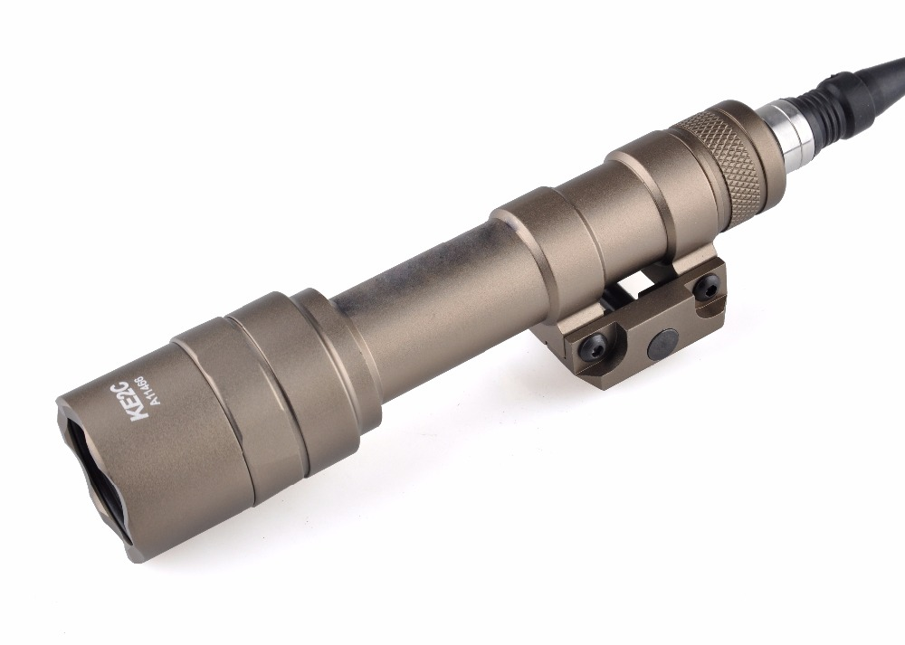 Element SF M600U Scout light LED 500 Lumens CREE LED XP-G R5 Pistol Flashlight Full Version Hunting Waterproof Light