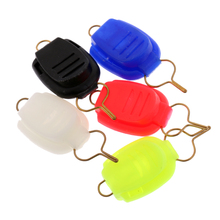 5 Pieces Baitcasting Fishing Line Stoppers Keepers Braided Nylon