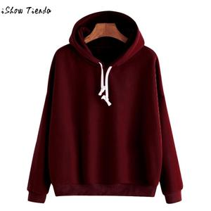 36d57ba48ca ISHOWTIENDA Hoodies Hooded Women Sweatshirt Female Bts Kpop