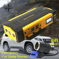 Super Multi Function Car Jump Starter Power Bank Mini Car Stlying Starting Device 600A Pack Car