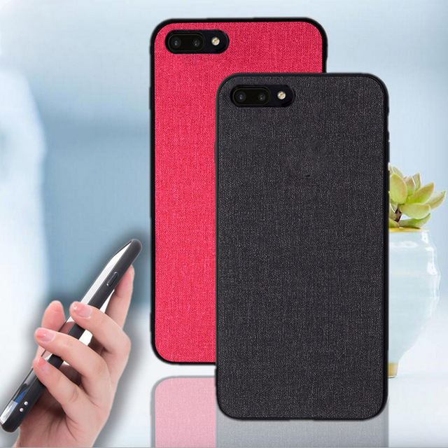 premium selection c8332 236bd US $3.99 20% OFF|Aliexpress.com : Buy For Huawei Honor 10 Case Cloth Fabric  Hard PC Back Cover For Huawei honor 10 business Canvas TPU Case fundas ...