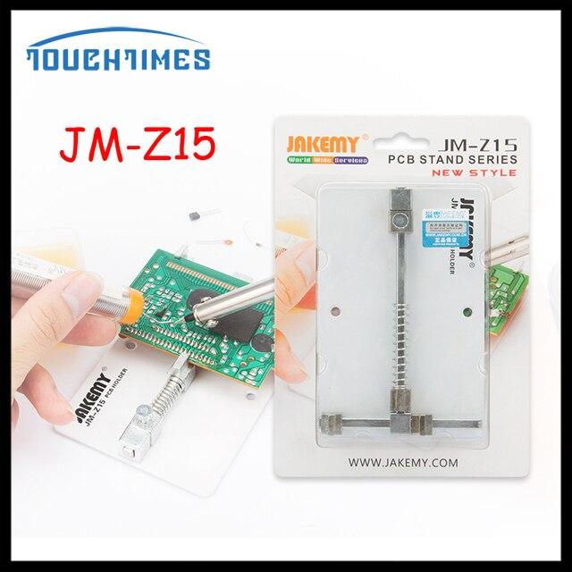US $8 5 |JAKEMY JM Z15 PCB Holder Circuit Board Clamp Bracket Holder  Maintenance Fixing Platform Fixture Repair Tools Kit For Cellphone-in Power  Tool