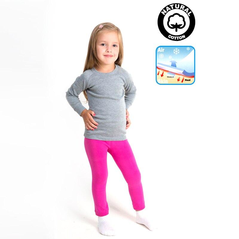 Dětské termoprádlo 2 ks Dětské oblečení Dívčí legíny - Dětské oblečení - Fotografie 2