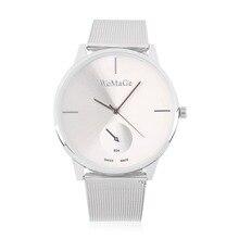 Микки Женщины кварцевые Часы повседневная прозрачные полые dial кожаный наручные часы женщины платье часы relogio