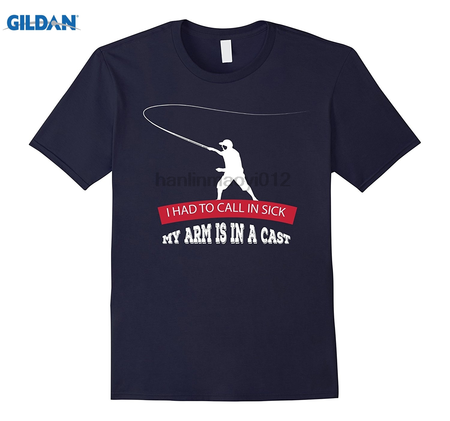 GILDAN I had to call in sick my arm is in a cast shirt Cotton fashion 2018 trend T-shirt summer dress T-shirt