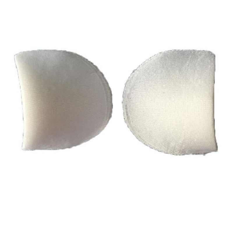 綿/ポリエステル肩パッド S/M/L ホワイトソフトパッド入りの衣服アクセサリー男性のための女性スーツ Tシャツ卸売 Wh