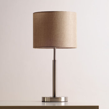 Lámparas de Mesa minimalistas modernas lámpara de mesa de tela creativa mesa de sala de estar elegante luz ajustable lightvertical correo ZS90