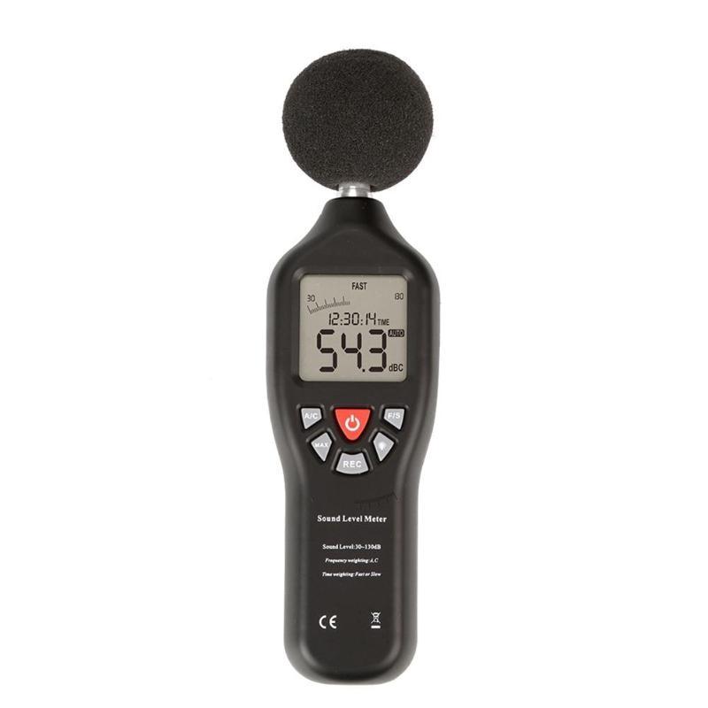 30-130dB détecteur Audio sonomètre décibel Instrument de mesure du bruit outil de Diagnostic numérique