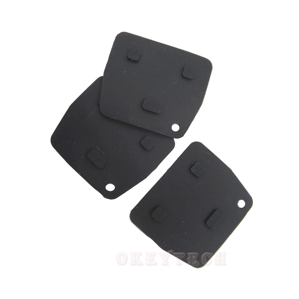 US $0 87 25% OFF|OkeyTech Silicone Repair Kit Rubber Pad 2/3 Buttons  Replacement Remote Key Fob For Toyota RAV4 Corolla Avensis Camry Prado  Lexus-in
