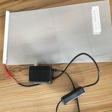 """Elektryczna samoprzylepna folia PDLC inteligentne szklane okno odcień drzwi Smart Film 12 """"x 6"""""""